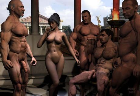 Порно гладиатор мульт