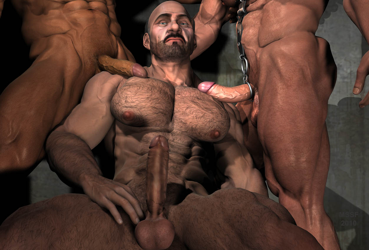 Barbarian gay art nsfw pic