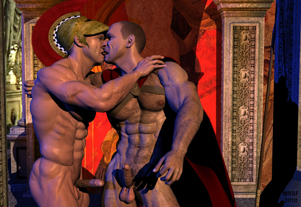 Gay Fantasy A Kiss