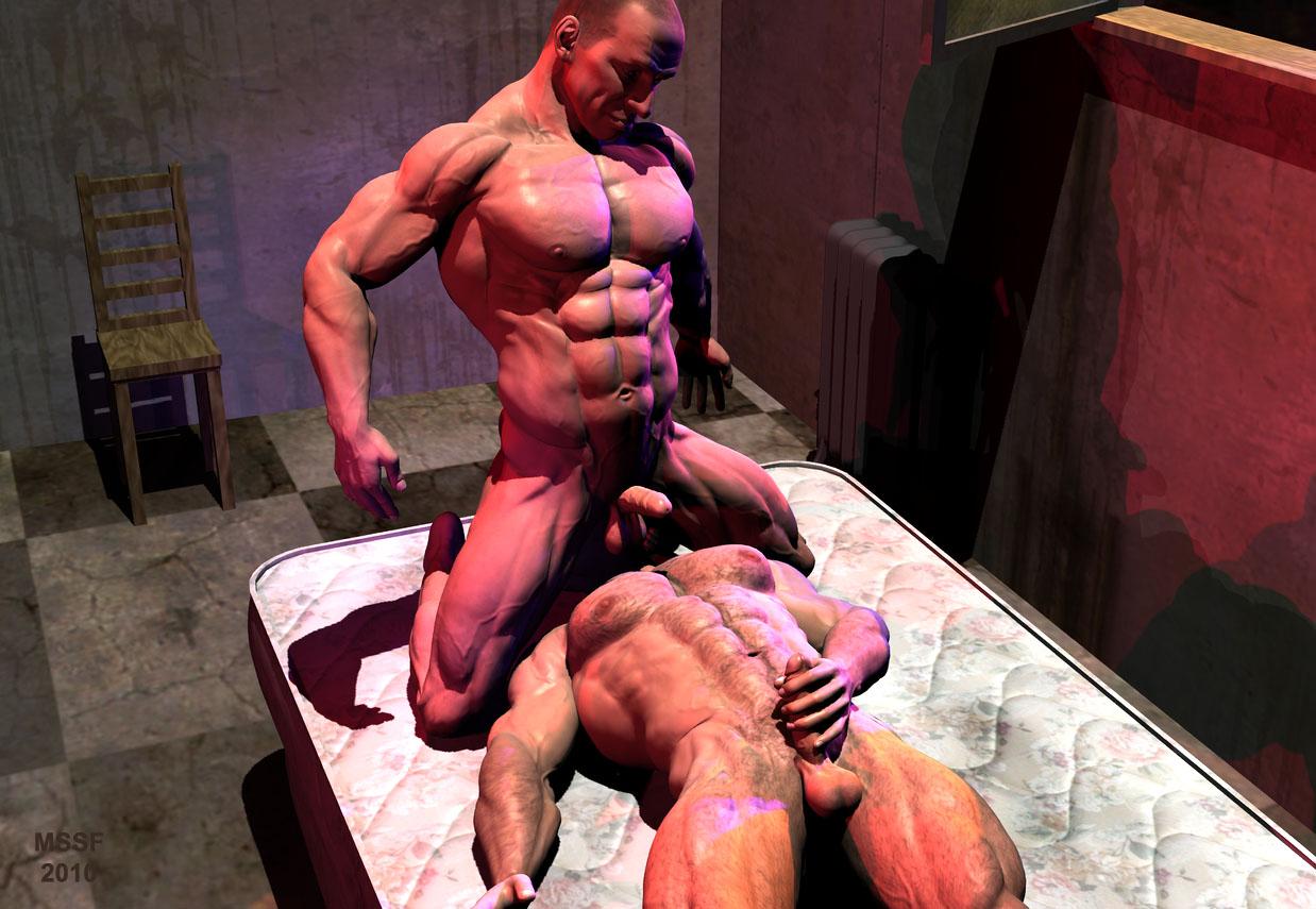 Gay muscular thumbnail