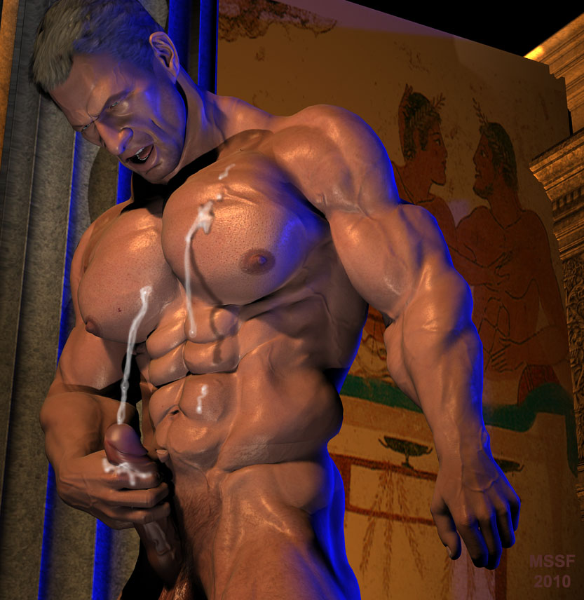 ... gay, gay art, gay bodybuilders, THE ANCIENT WORLD . . Author: artmssf .