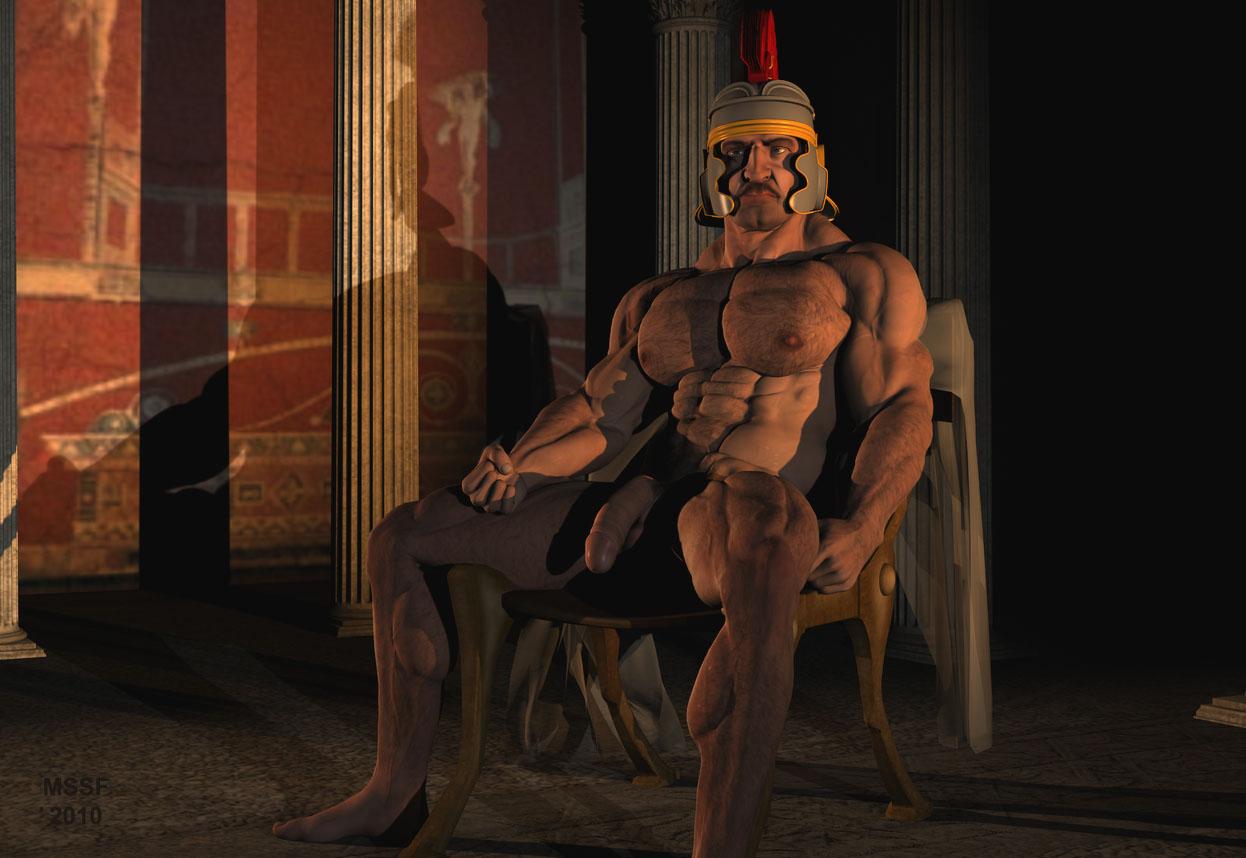 Art porn naked gladiators