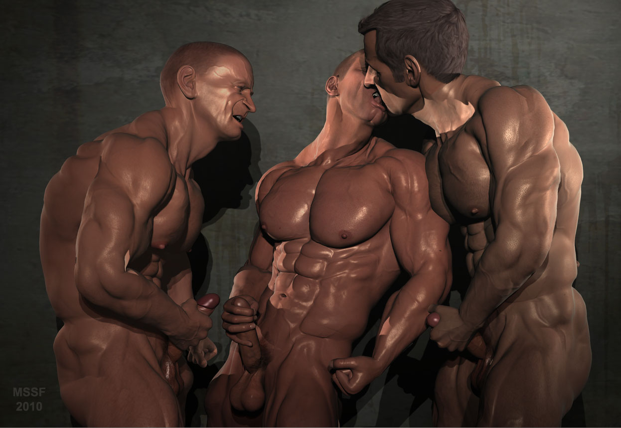 Muscle worship br