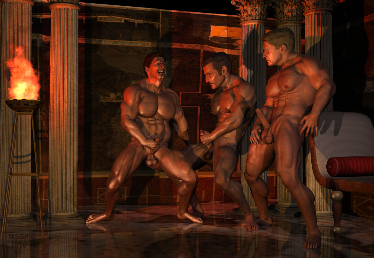 Roman orgy art work for