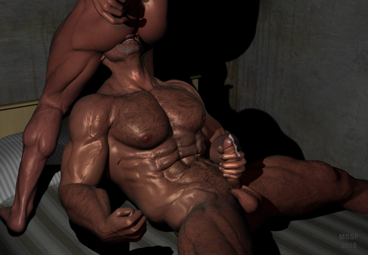 Animated 3d muscle man fucks girl nude tube