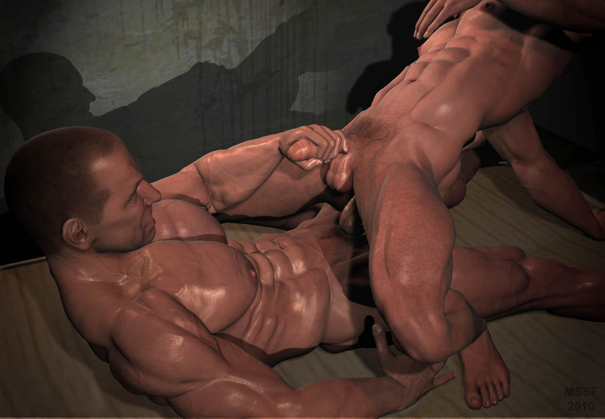 Nude gay bodybuilders