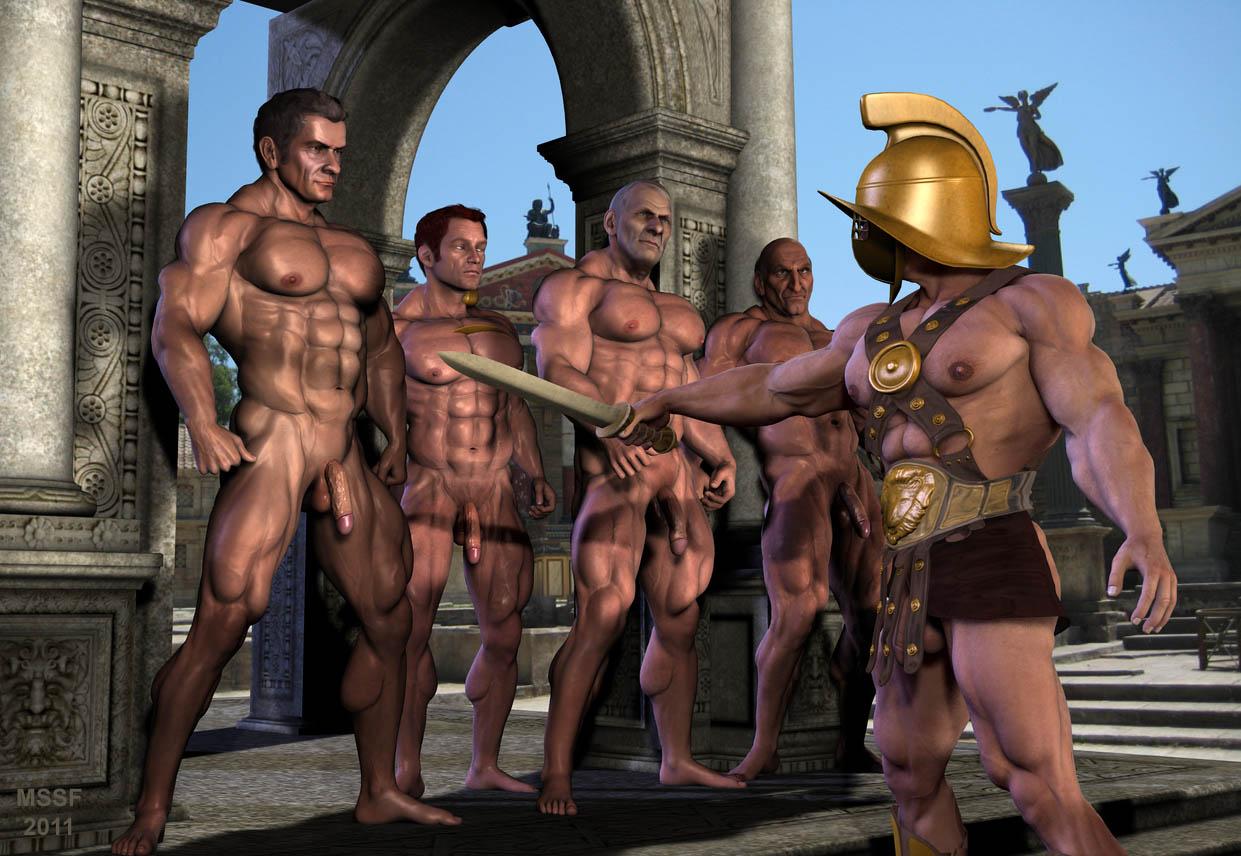 Roman man torture sex orgies