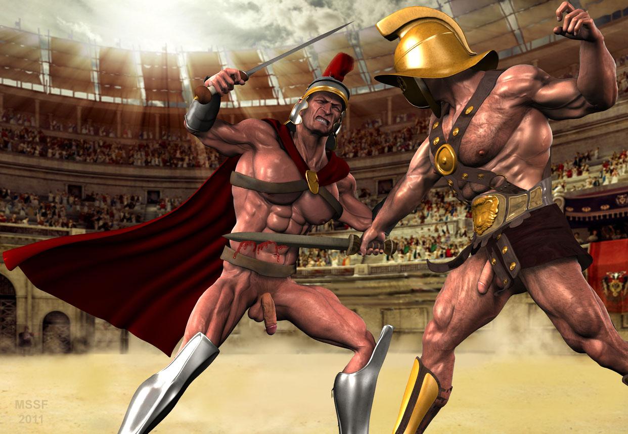 gladiator gay naked