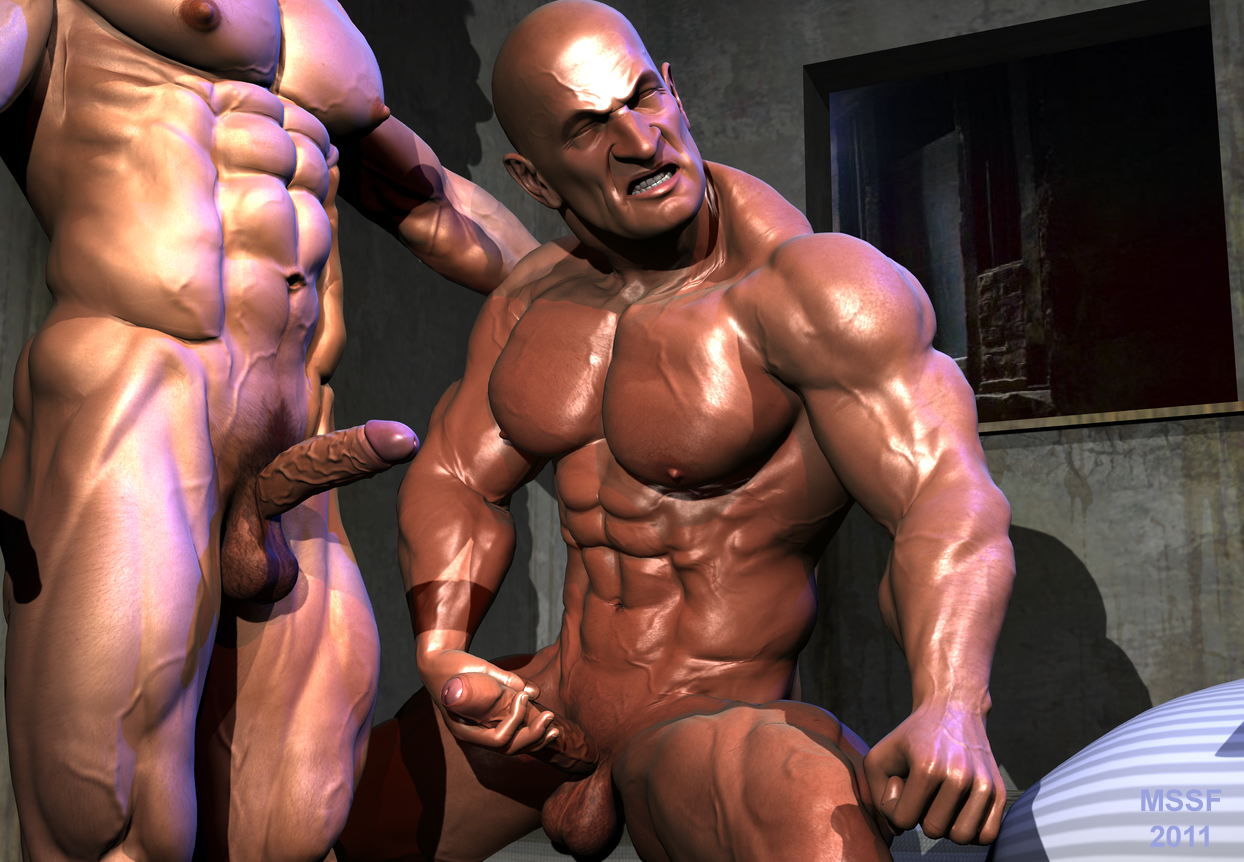 Animated 3d muscle man fucks girl naked thumbs