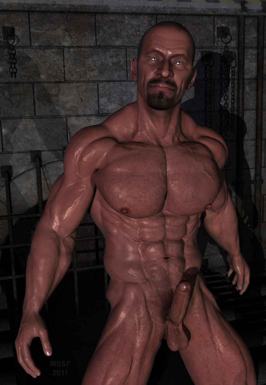 at atention Huge Gay Bodybuilder Zeb Atlas Lives Here!