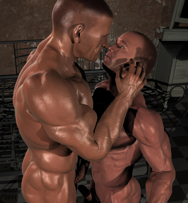 Gay male erotic fantasy art