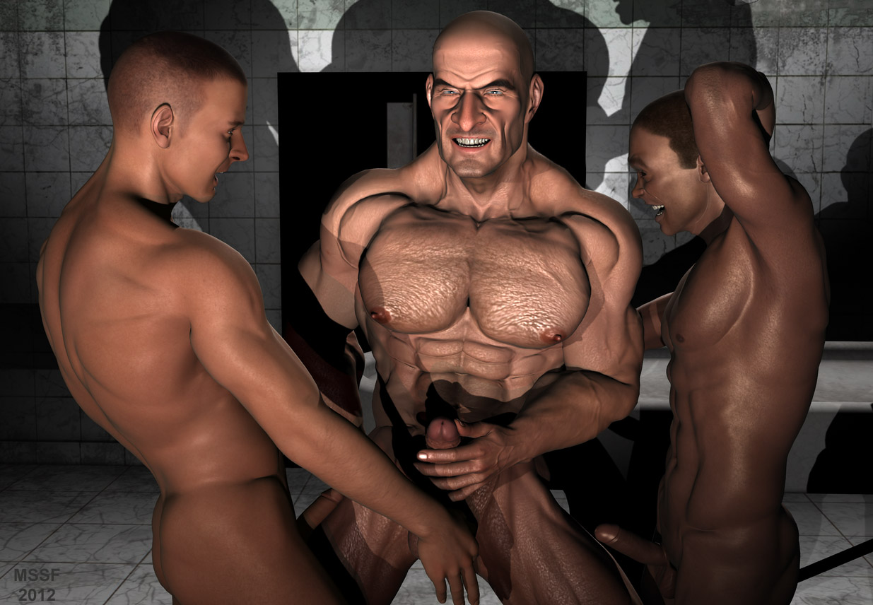 Sherman recommend best of gay muscular 3d porn